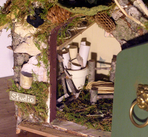 Custom Fairy House by laurierohner.com